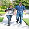 28.02.10 Miley & Liam se promenent dans Toluca Lake . Ajoutes moi à tes favoris ♥