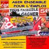 AGIR ENSEMBLE POUR L'EMPLOI A LA SBFM.....