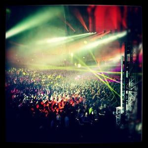 2012 Apr 6 - Hier soir, Melissa Mars était présente au 20ème anniversaire de RADIOFG
