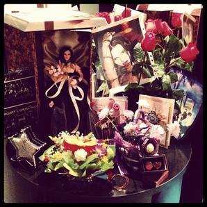 2013 Octobre 06 - Cette semaine sur l'Instagram de Melissa Mars