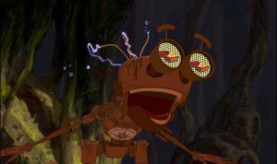 personnage dans « La Planète au Trésor » : BEN