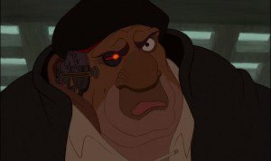 personnage dans « La Planète au Trésor » : John Silver