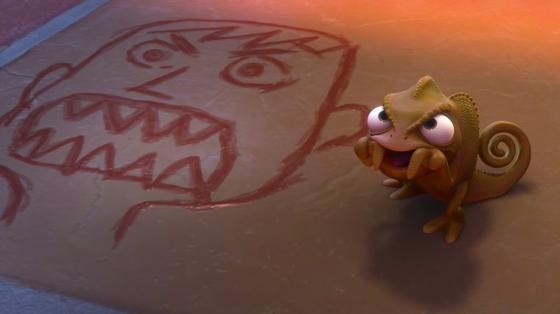 personnage dans « Raiponce » : Pascal