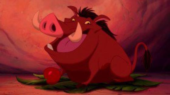 personnage dans « Le Roi Lion » : Pumbaa