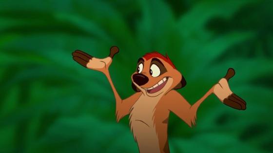 personnage dans « Le Roi Lion » : Timon
