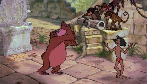 personnage dans « Le Livre de la Jungle » : Le Roi Louie