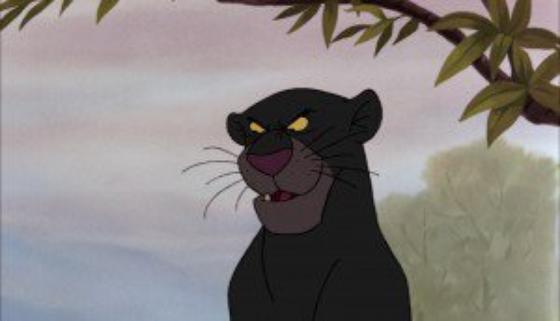 personnage dans « Le Livre de la Jungle » : Bagheera
