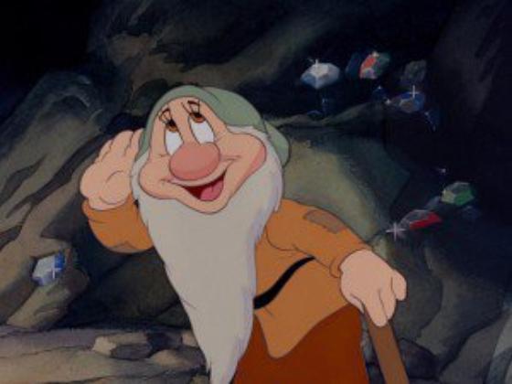 personnage dans Blanche-Neige et les Sept Nains. : Timide