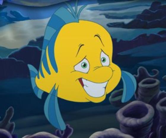 personnage dans « La Petite Sirène ». : Polochon