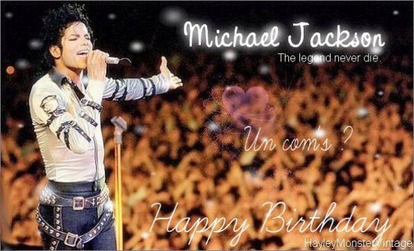 ♥ 。.:* *.:。 Happy Bithday, Michael 。.:* *.:。 ♥
