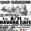 Nouvelle affiche faite par moi ! Pour le concert de The Klones le 08/11/08 au Havana Café pour Emergenza !