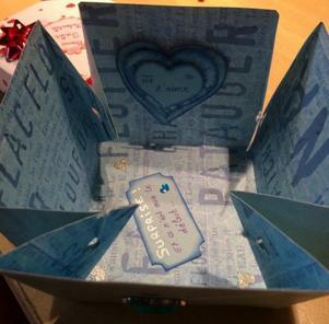 Boîte cadeau pour la Saint-Valentin