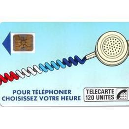 La carte téléphonique à puce