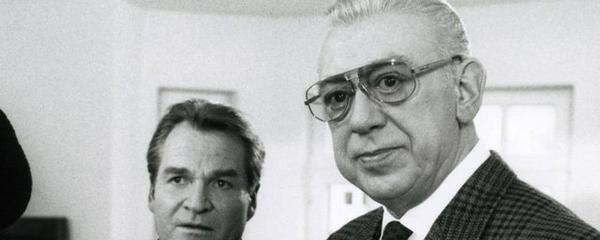 """En Allemagne, l'acteur H.Tappert """"l'inspecteur Derrick"""", annonce sa retraite."""