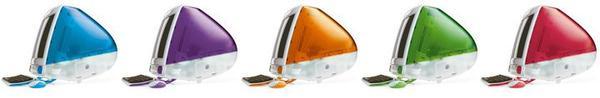 Aux Etats-Unis, lancement du dernier né de chez Apple : l'iMac, spécialement conçu pour l'Internet