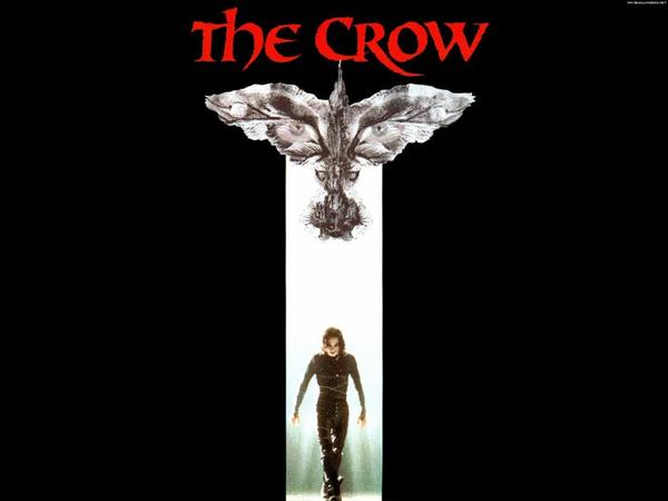 "Sortie en France du film ""the Crow"""