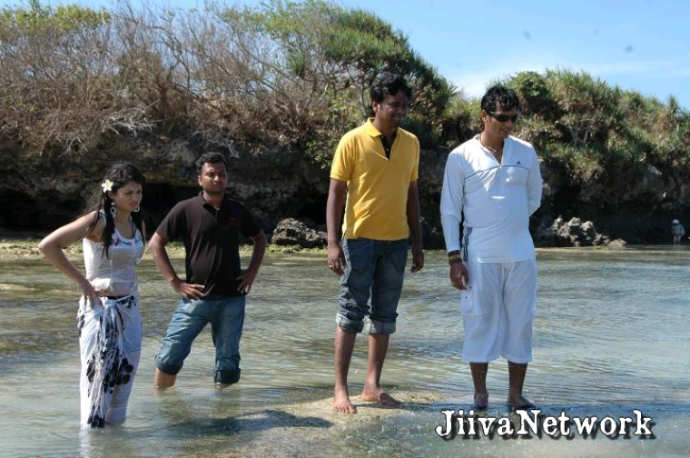 Sur le tournage de Siva Manasukul  Shakthi