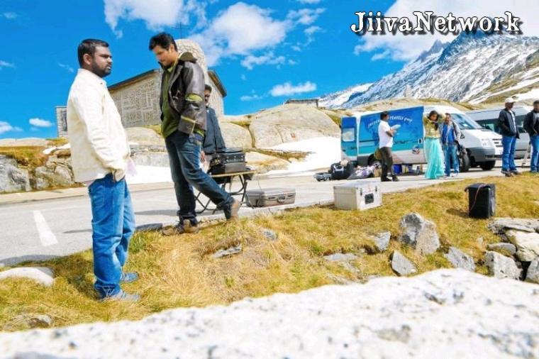 Sur le tournage de Vanthan Vendran
