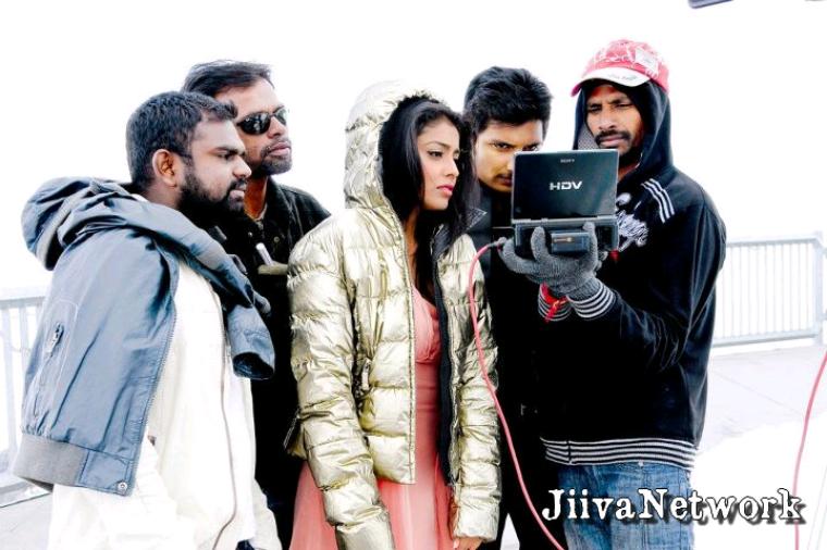 Sur le tournage de Rowthiram
