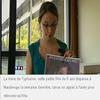 La mère de Typhaine reconnaît la mort de l'enfant
