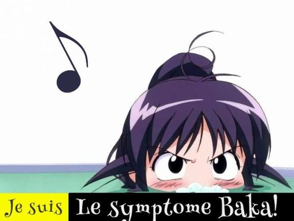 Je suis le symptome Baka!