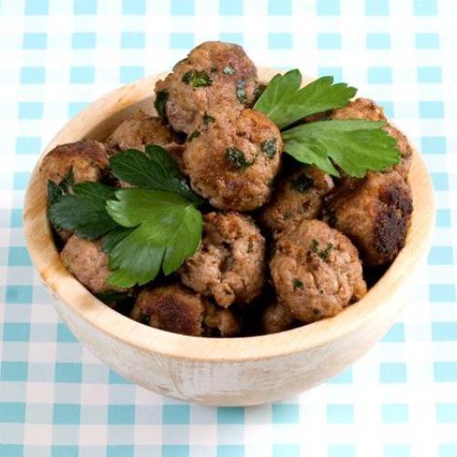 Boulettes de dinde aux cacahuètes
