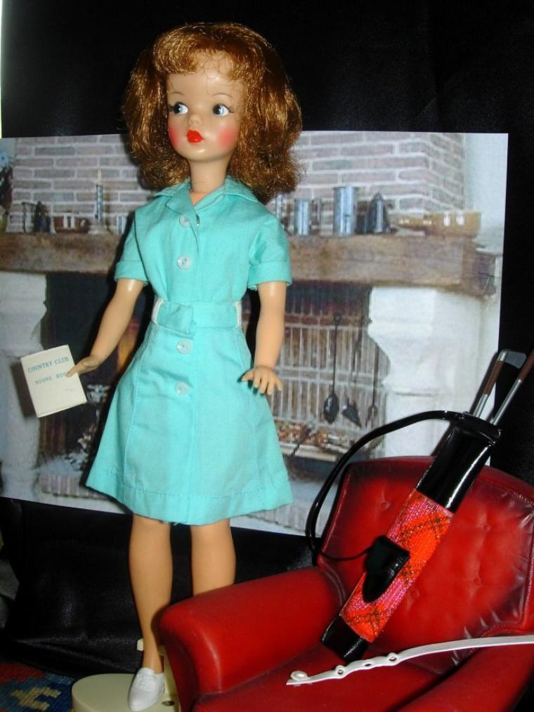 """IDEAL TOYS TAMMY DOLL """"TEE TIME"""""""