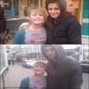 31.12.09 | Robert et Kristen, prennait une photo avec une fan dans les rues de Londres .