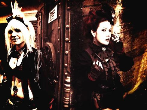 Page cosplay Steam-punks