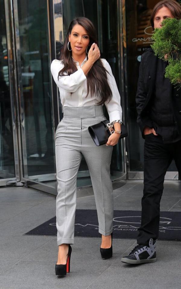 Les Looks De Kim Kardashian Sur Tendancepeople