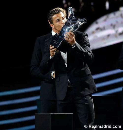 Cristiano Ronaldo: meilleur joueur européen