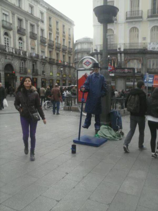 Les 10  choses bizarres à Madrid part 2