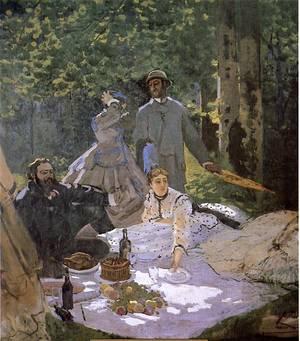 1865 1866 Le Dejeuner Sur L Herbe De Claude Monet Passion Impressionniste S Blog Skyrock Com
