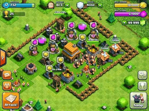 clash of clans apk gems hack download