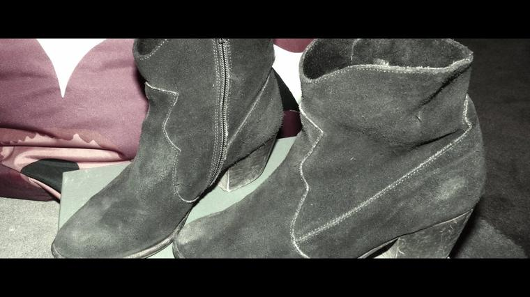 Bottines à talons marron T36