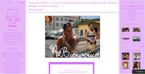 Blog source de Plus belle la vie ...