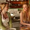 .   ---FLASHBACK   « Bridgit, au côté de Lindsay Lohan dans le film Labor Pains en 2009  »         .