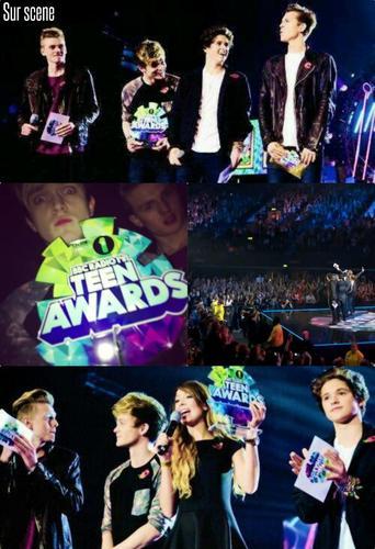 The Vamps au Radio 1 Teen Awards 2013 (03.11.13)