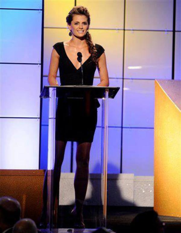 Stana Katic au Critics Choice Television Awards le 18 juin 2012
