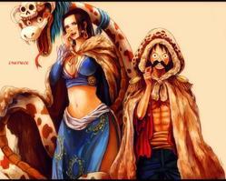 Les couples dans One Piece