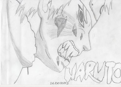 Dessin de Naruto :)