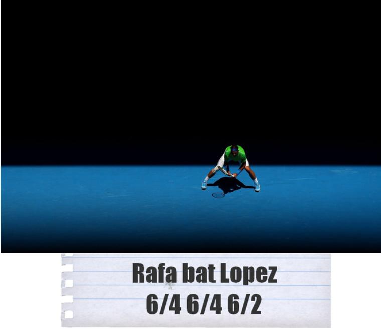 Australian Open 2012 / 08 : 1/4 de finale !