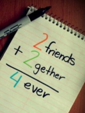 Sans l'amitié, l'amour n'existerait pas.