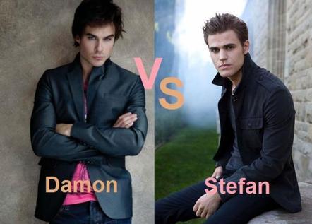 Stefan vs Damon