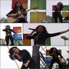 . Demi à chanté lors de l'ouverture d'une nouvelle boutique Microsoft au park Meadow à Denver.     .