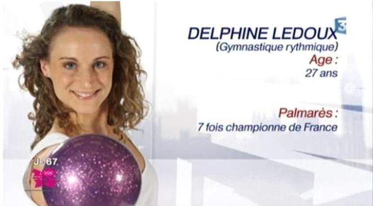 DELPHINE LEDOUX A L'HONNEUR SUR FRANCE 3