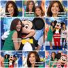 """. 10.06.10 - Teri & sa fille Emerson ont asistées au débuts de """"Monde de Couleur"""" à Disneyland.."""