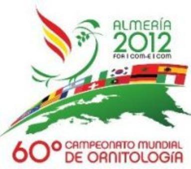 pajaros por paises mundial de Almeria