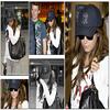Ashley arrive à Londres,le 1 Avril 2009.