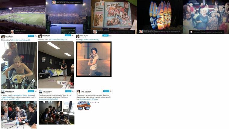"""06.02.2012 - Photoshoot par Elle +  19.04.12 - Harry à l'aéroport de Wellington + Entrevue avec la radio 90.9 Sea FM - 18-04-2012 + En dehors de leur hôtel à Auckland -Nouvelle Zélande - 20-04-2012  + Si vous voulez des tee-shirts sympa sur les 1D.. Je vous conseille ce site +  Scan de """"Elle"""" +  Photo du 1D Store qui va s'ouvrir aujourd'hui à Wellington en Nouvelle Zélande + Via Twitter"""
